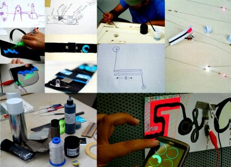 Cómo hacer un wearable en http://sketchingsoftcircuits.wordpress.com/