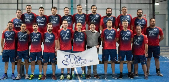 Equipo Central Padel 500.
