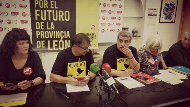 Los sindicatos UGT y CCOO