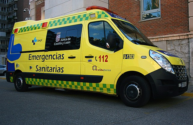 Ambulancia dl 112 Sacyl